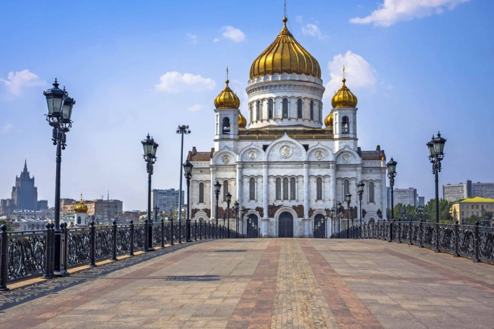 4 Day Moscow Classical Tour - the Kremlin